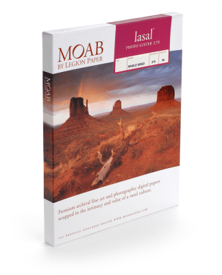Moab Lasal Photo Luster 270