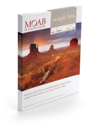 Moab photo paper- sample box