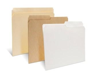 Reinforced Top Tab Letter & Legal Archival File Folders
