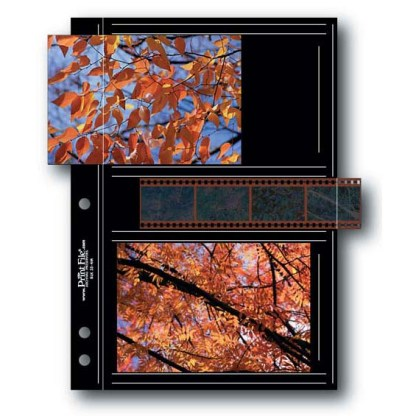 BLK35-4M album page shown with film strip