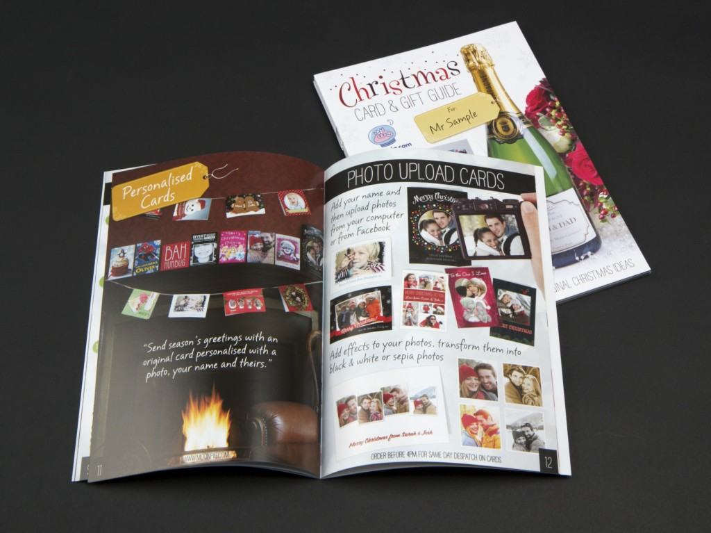 Personalised Direct Mail Printing For Moonpig Case Study