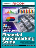 2014-2015 Financial Benchmarking Study