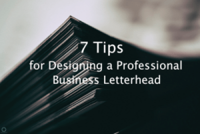 Tips for Designing a Professional Business Letterhead