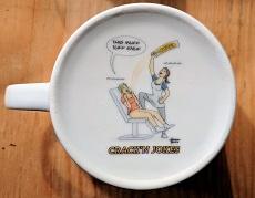 Large Bottom Mugs Great For Printing Mug Bottoms INside and Out