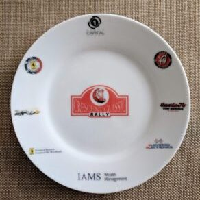 Custom Printed Plates for Ferrari Club of USA