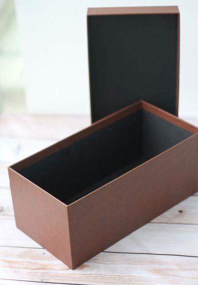 Rigid box top bottom