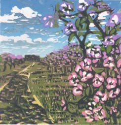 Louise Stebbing, Blossoming Apple Orchard