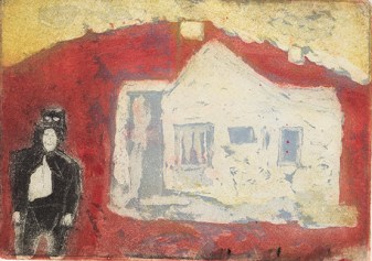 Trevor Dance, The House of the Eccentric, Etching, aquatint and drypoint