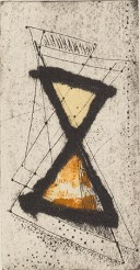 Lisa Gribbon, Valve, Collagraph and chine collé