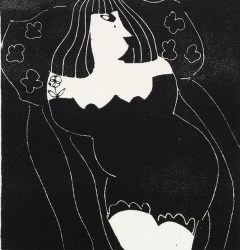 Anthony Millard, Femme Couchée, Lithograph