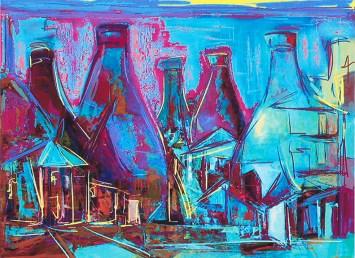 Micheal Pritchard, Old Hall Pottery, Digital pigment print
