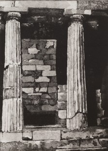 Christine Watson, Treasury of the Athenians, Aquatint