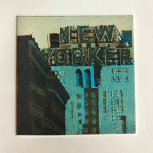 Victoria Ascanio 'The New Yorker' etching/aquatint £250