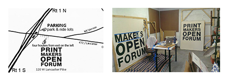 Printmakers Open Forum Rag Recycling For Our Small