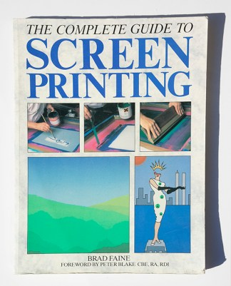 The Complete Guide to Screenprinting printmaking bible