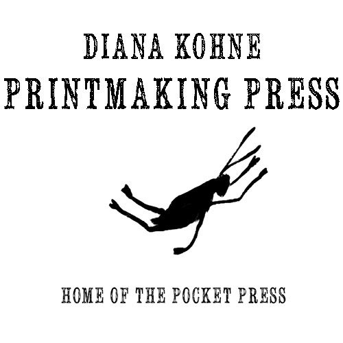 Printmaking Press by Diana Kohne