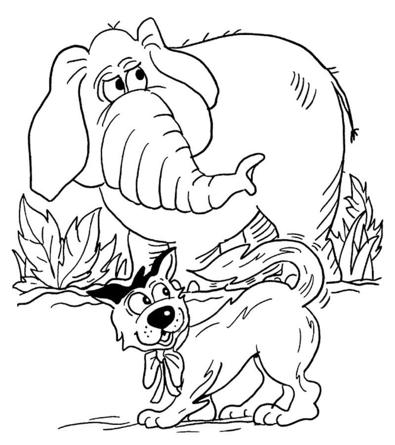 ausmalbilder: ausmalbilder: elefanten zum ausdrucken