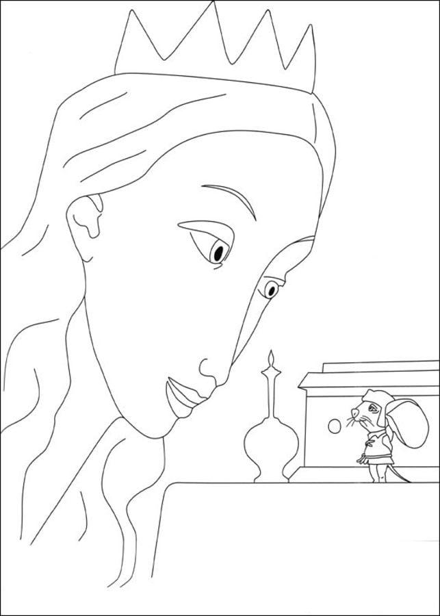 Dibujos para colorear: Despereaux: un pequeño gran héroe