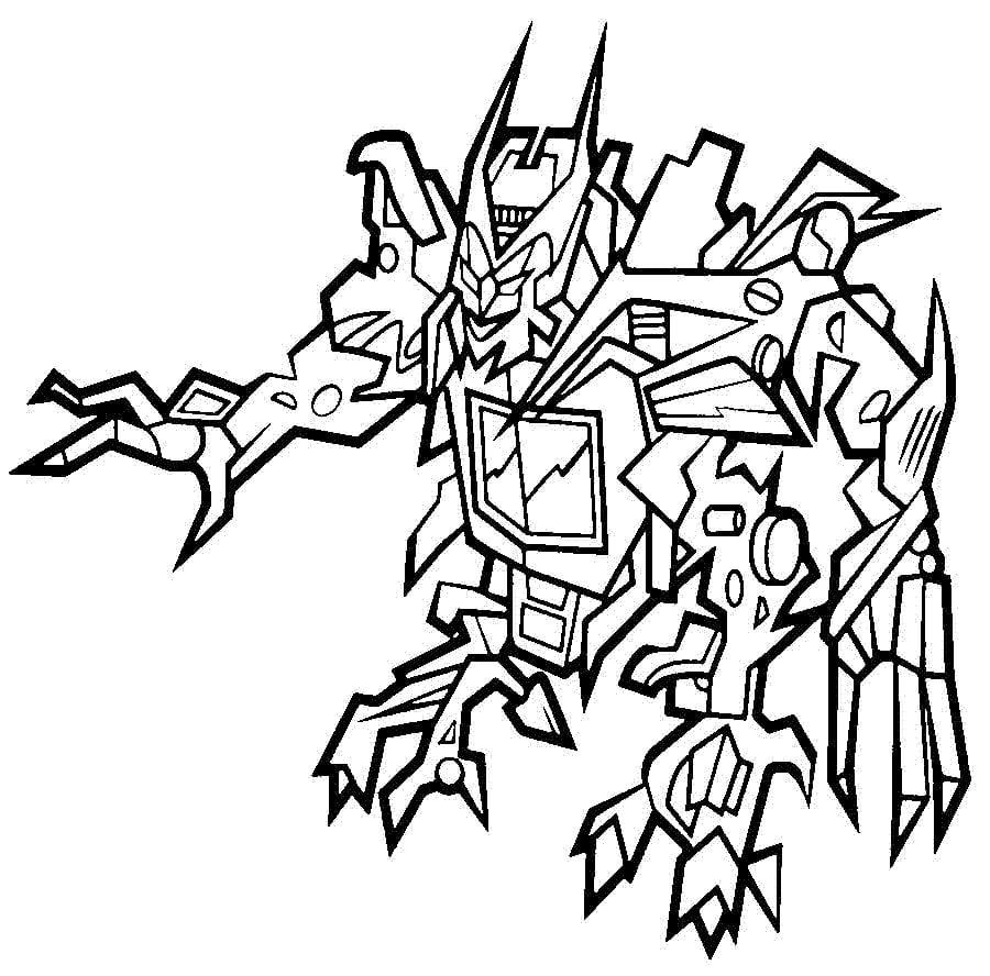 Ausmalbilder: Ausmalbilder: Transformers zum ausdrucken, kostenlos