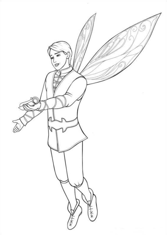 Coloring Pages Coloring Pages Barbie Mariposa Printable