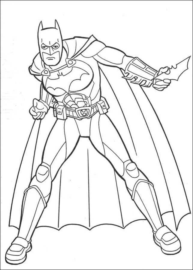 Coloring Pages Coloring Pages Batman Printable For Kids Adults Free