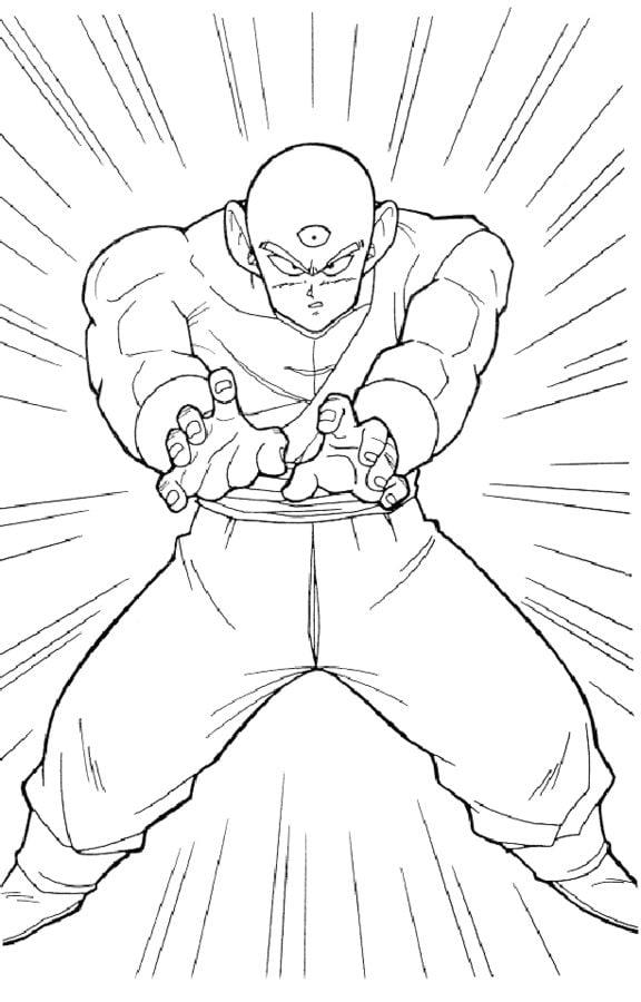 Dibujos Para Colorear Dragon Ball Z Imprimible Gratis