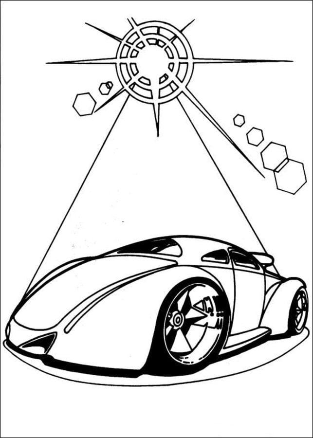 Dibujos Para Colorear Hot Wheels Imprimible Gratis Para Los Niños