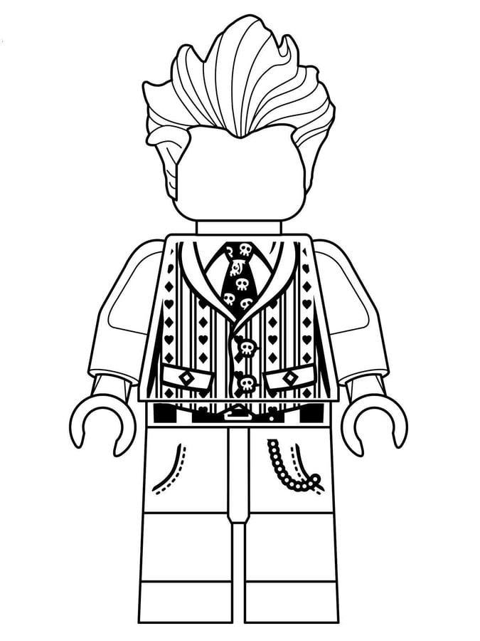 Dibujos Para Colorear Lego Batman Imprimible Gratis