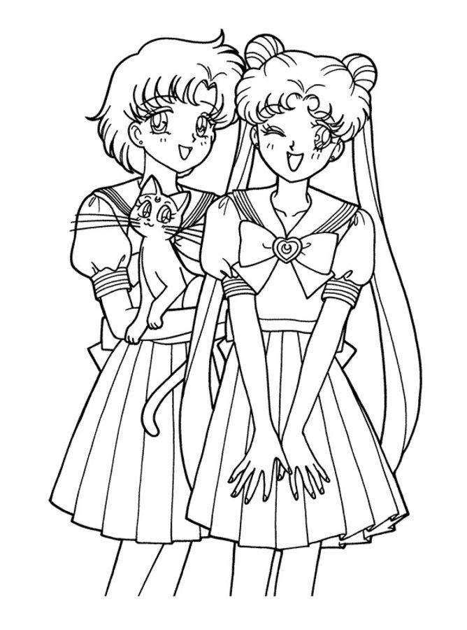 Disegni Da Colorare Disegni Da Colorare Sailor Moon Stampabile Gratuito Per Bambini E Adulti