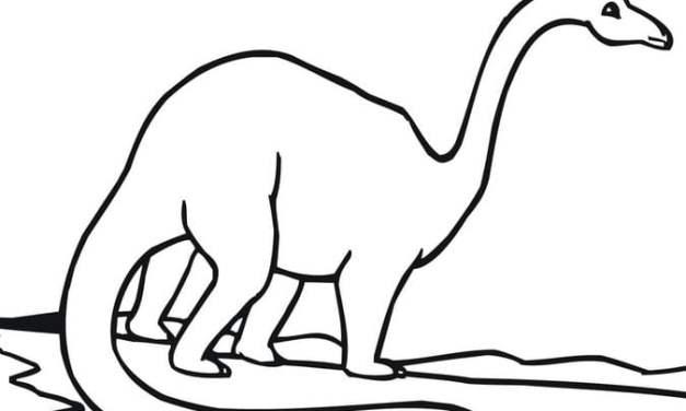 Ausmalbilder: Brachiosaurus