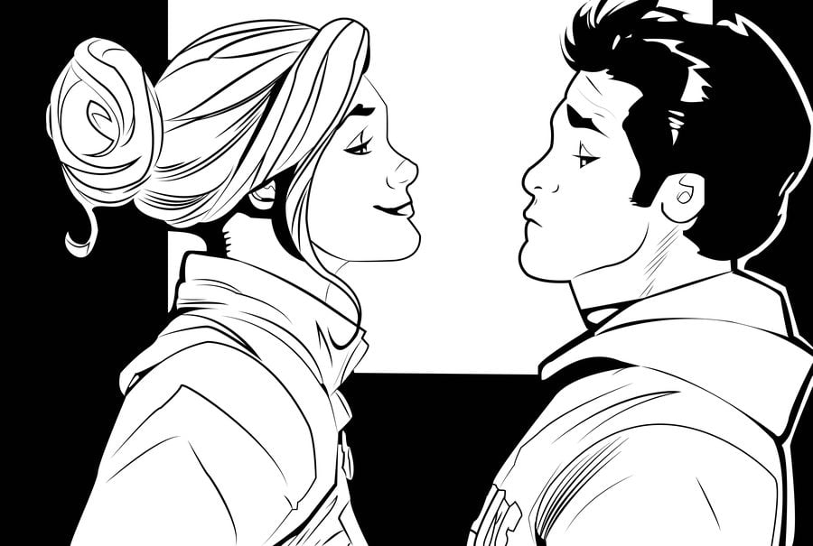 Coloring Pages Carol Danvers Captain Marvel Printable