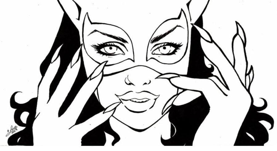 Disegni Da Colorare Disegni Da Colorare Catwoman