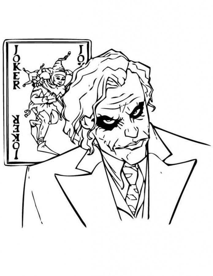 Joker Bande dessinée Coloriages DC Comics