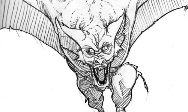 Coloring pages: Man-Bat