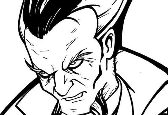 Coloring pages: Ra's al Ghul