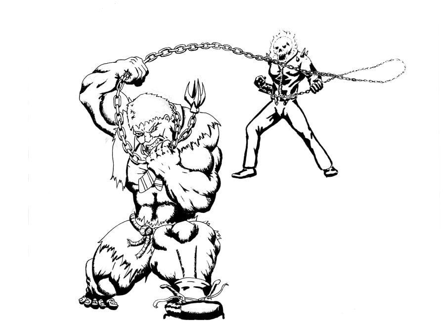 Solomon Grundy Bande dessinée Coloriages DC Comics
