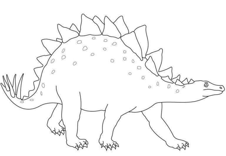 ausmalbilder ausmalbilder stegosaurus zum ausdrucken