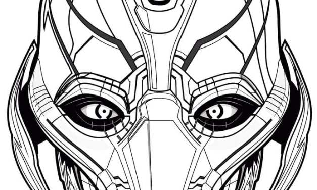 Coloring pages: Ultron