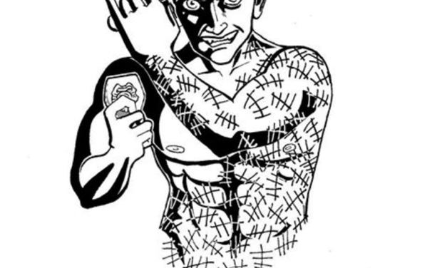 Coloring pages: Victor Zsasz