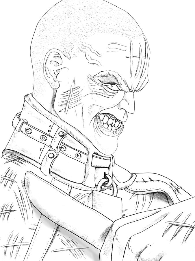 Victor Zsasz Bande dessinée Coloriages DC Comics