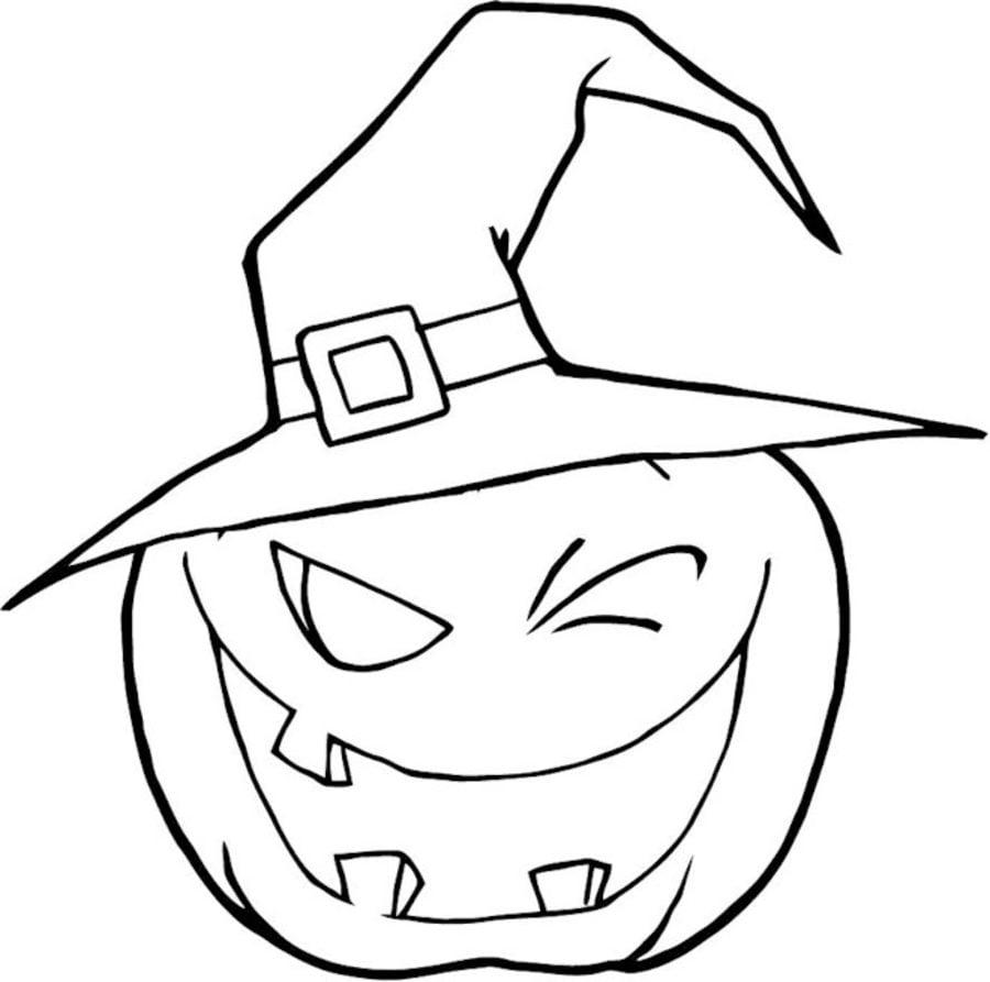 Disegni Da Colorare Disegni Da Colorare Zucca Di Halloween