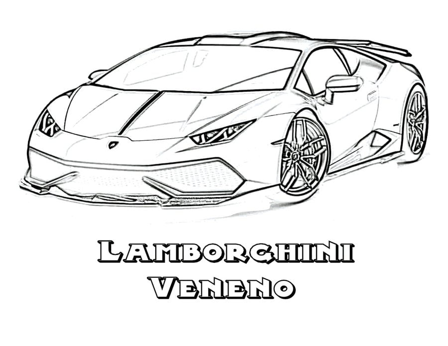 Coloring Pages Coloring Pages Lamborghini Printable For