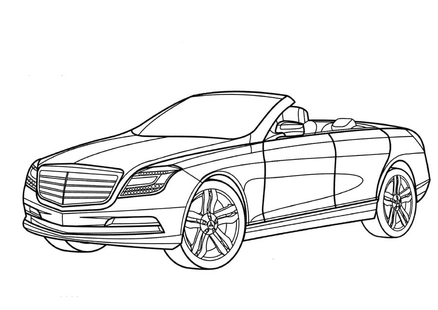 coloring pages coloring pages mercedes printable for