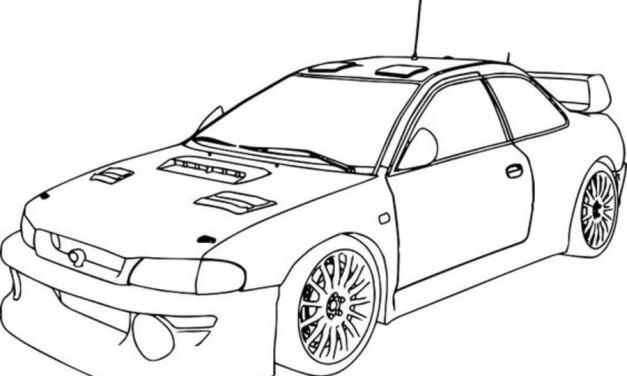 Ausmalbilder: Subaru