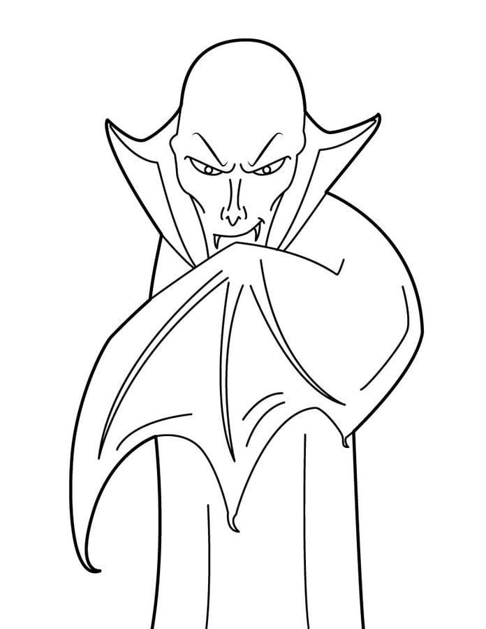 Ausmalbilder Ausmalbilder Vampir Zum Ausdrucken Kostenlos