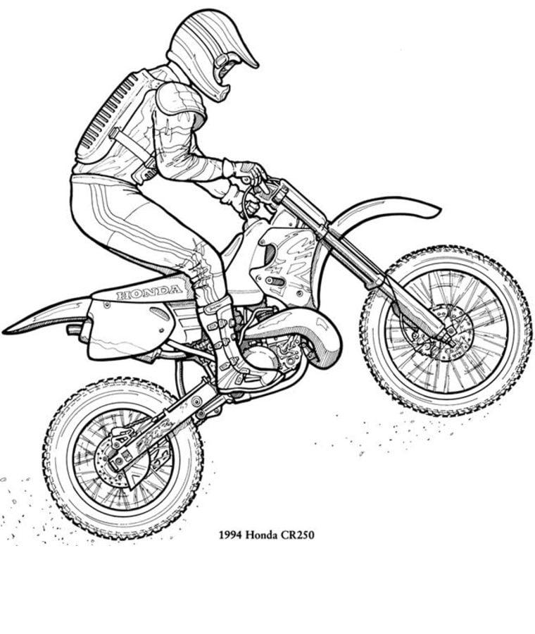 Disegni Da Colorare Disegni Da Colorare Motocross Stampabile Gratuito Per Bambini E Adulti