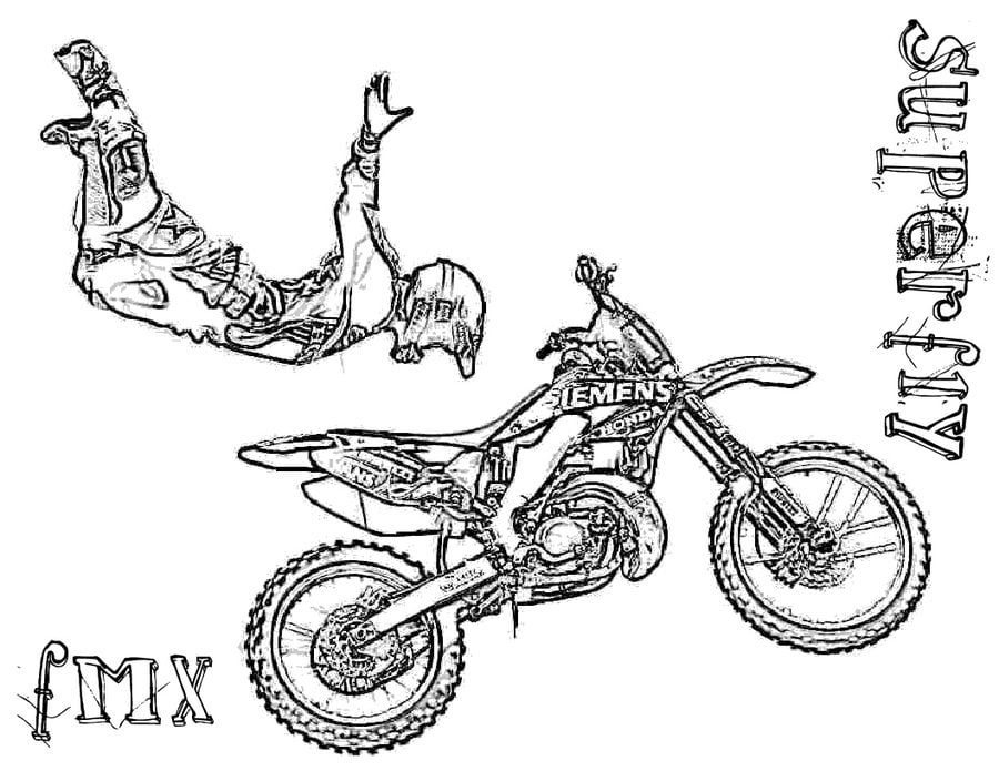 - Coloring Pages: Coloring Pages: Motocross, Printable For Kids & Adults, Free
