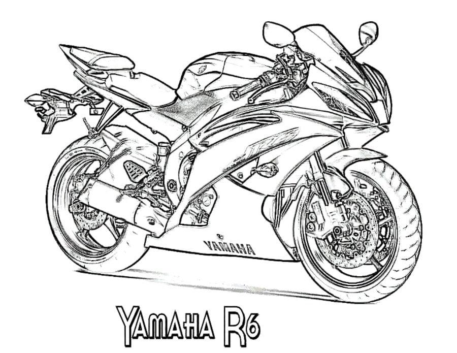 Ausmalbilder: Ausmalbilder: Yamaha zum ausdrucken