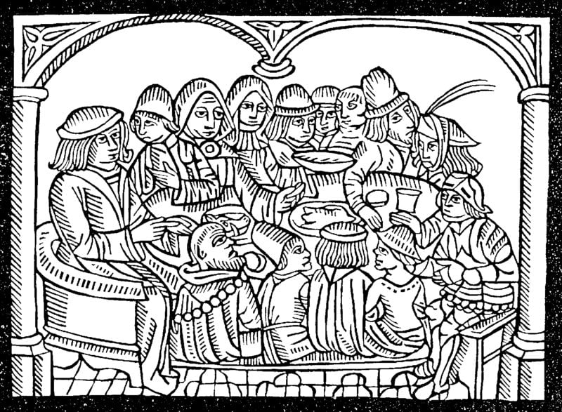 ausmalbilder für erwachsene mittelalter zum ausdrucken