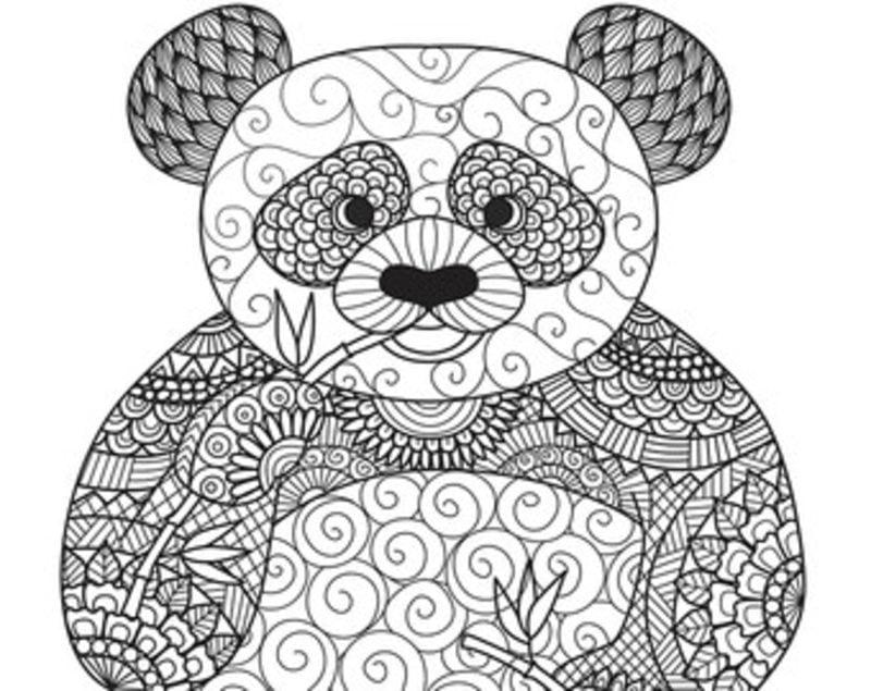 ausmalbilder für erwachsene panda zum ausdrucken